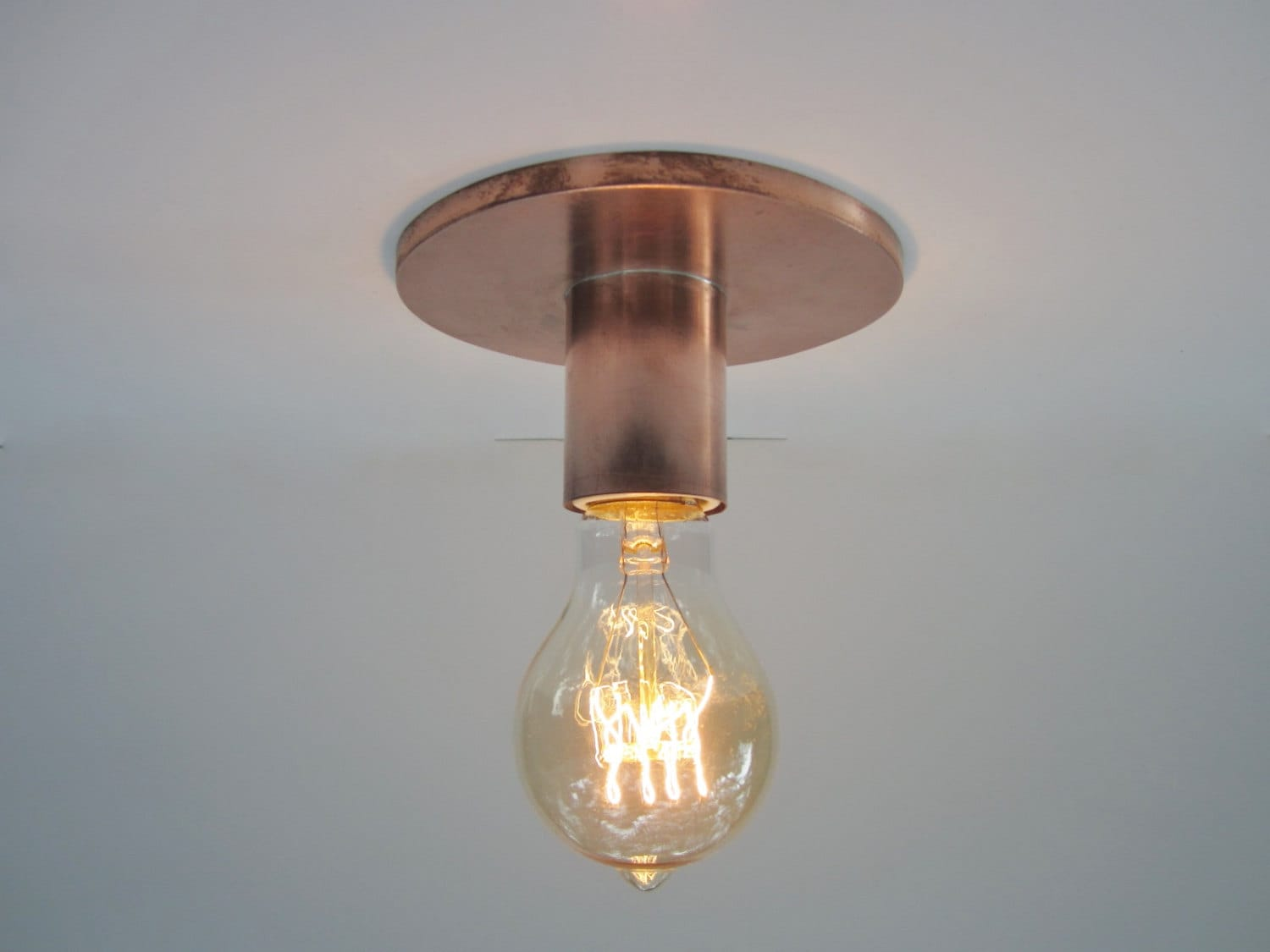 edison bronze amazon light wide com ceiling dp to fixtures industrial close atom