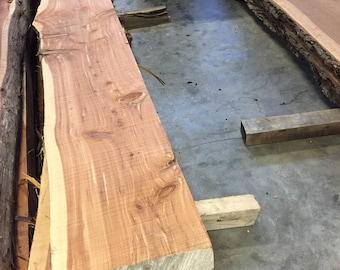 Live Edge Aromatic Cedar Mantle/Beams