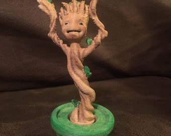 Potted dancing Groot