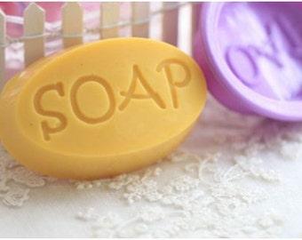 "Oval Silicone ""Soap"" Mold"
