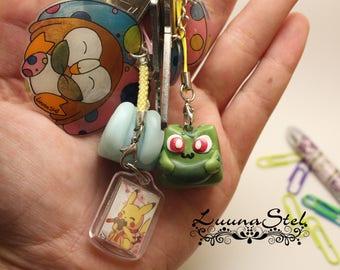 Pokemon Bulbasaur keychain