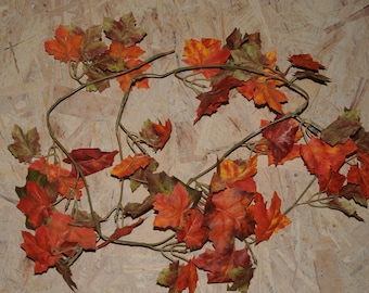 The colors of fall leaves Garland