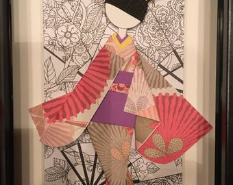 Traditional Origami Doll