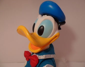 1980's DONALD DUCK Vintage Doll - Disney- Mickey Mouse - Pluto -