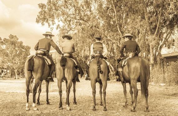 SPANISH HORSEMAN,equine print,photographic print,spanish horses,spanish cowboys,limited edition print