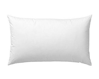 16 x 28 Rectangle Goose Feather Pillow Insert