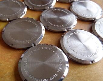 Vintage Antique Watch parts cases backs- Steampunk - Scrapbooking g78