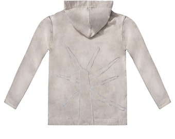 Flax Hoodie Ash Tree <XL>, Raw, Eco, Natural, Prime