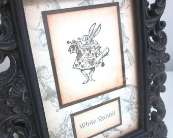 Alice in Wonderland Table Marker/Number for Weddings/Special Occasions