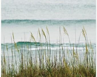 Beach photography, North Carolina, The Long Wait for Summer, fine art print