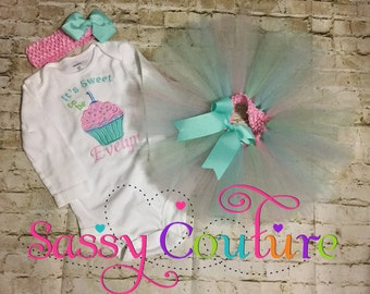 It's sweet to be one tutu outfit or any age