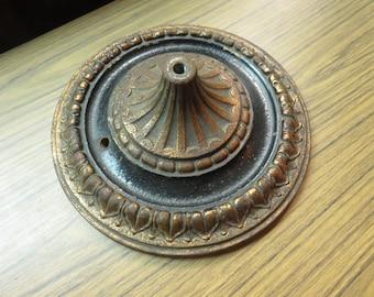 Antique Ornate Heavy Floor Lamp Base Part