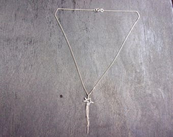 Shooting star chain necklace