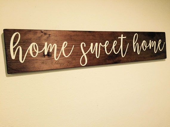Wooden signs home decor uk