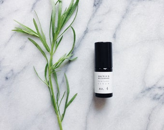 perfume no. 4 - botanical fragrance - yuzu, petitgrain sur fleurs, neroli, ylang ylang, ginger lily, tarragon, orris, galbanum - 5g