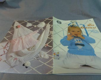 Knitting Patterns, Baby, Toddlers Clothes, For Starters, 18 designs, Sirdar UK