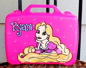 Princess art box, Princess storage box, Princess art case