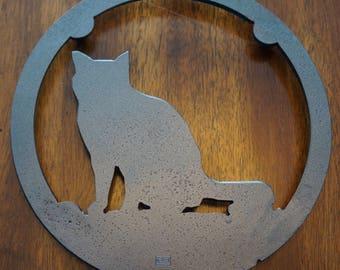 "Cat Trivet ""American Shorthair"""