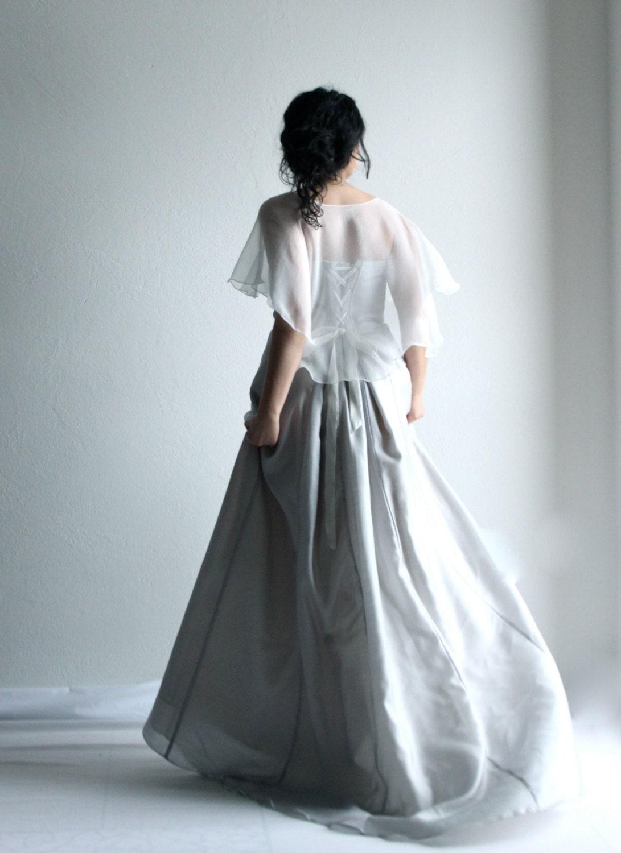 Bridal capelet Wedding Capelet bridal cape wedding shrug