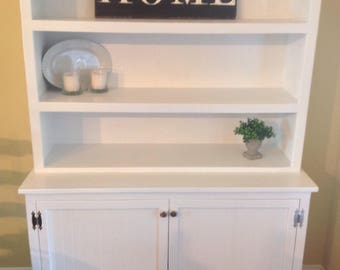 Farmhouse Hutch / Display Cabinet