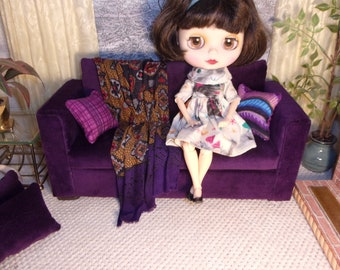 1:6 Sofa for Blythe,  Barbies, Fashion Royalty