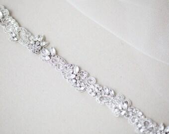 Bridal headband, Bridal headpiece, Headband - Style R86