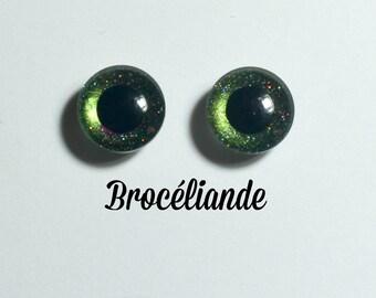 Eyechips 13 mm - Coloris Broceliande Taille Pullip Modèles Récents