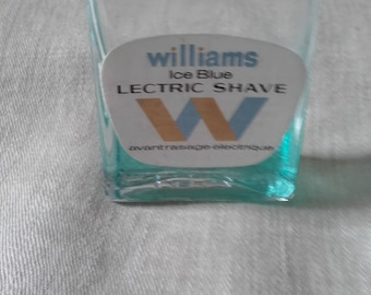 Miniature Williams Lectric Shave Ice blue