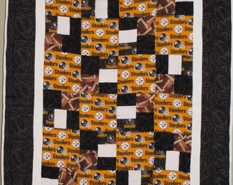 Pittsburg Steelers Football Quilt