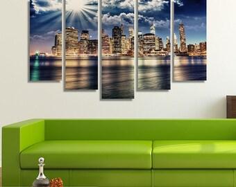New York City Print, New York City, New York Photography, Office Décor, City Photography, Photography Prints, Photography Canvas