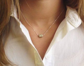 Two Initials Necklace, Deliciate Necklace, Gift for Best Friend, Mother's Necklace, Gifts Under 50, Gift Sister Jewelry, Initial Jewelry