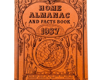 1937 Ford Home Almanac & facts book