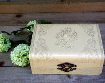 Victorian Celluloid Dresser Box