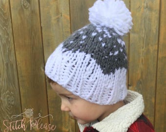 The Waterton Hat Toddler Size