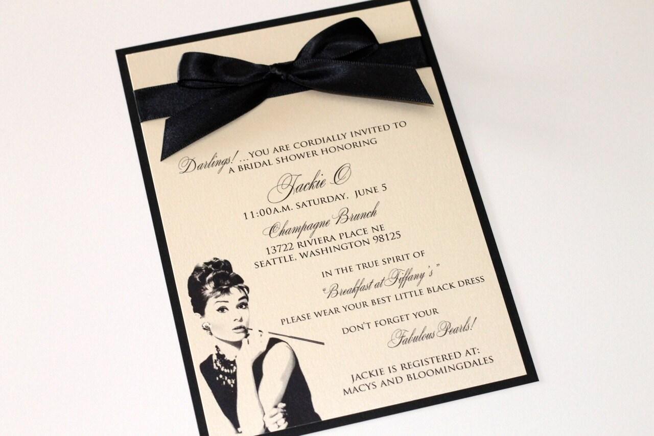 bachelorette party invitation wording wear black - Picture Ideas ...