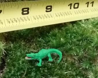 1 Miniature Alligator fairy garden /fairy pond / succulent / terrarium / mini garden
