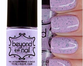 Enchanted Unicorn Horn - Purple Creme Nail Polish with Flakies