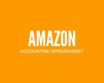 Amazon Sellers Bookkeeping Spreadsheet