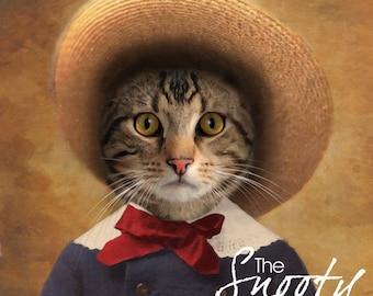 CAT PORTRAIT – Cat Print, Cat Portrait Custom, Pet Portraits, Custom Pet Portraits, Cat Art, Pet Portraits From Photo, Custom Cat Portraits