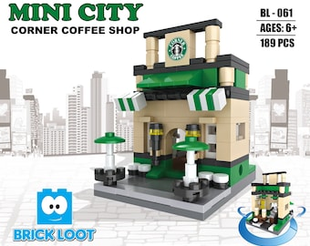 Mini City - Corner Coffee Shop