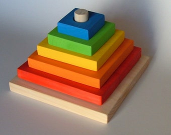 Stacking Toy** Colorful Stacking Toy** Montessori Stacking Toy** Toddlers Stacking Toy**