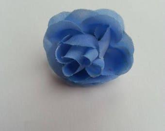Fleur Gerbera En Tissu Blanc Ivoire 70mm