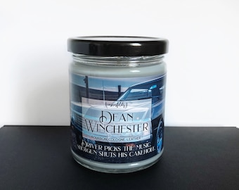 Dean Winchester | Supernatural Inspired 4oz. or 8oz. Scented Soy Candle