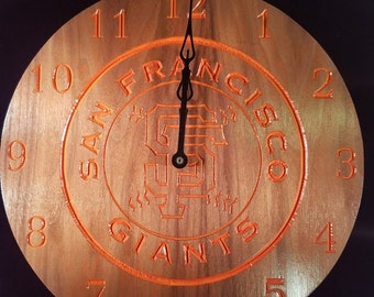 San Francisco Giants Clock