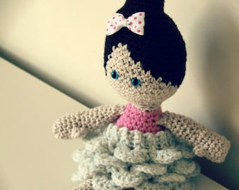 Download Now - CROCHET PATTERN Tutu Cute Ballerina - Amigurumi Doll - Pattern PDF