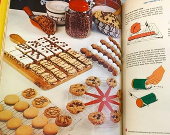 Family Circle Illustrated Library of Cooking  Volume 5  Chi-Coo from 1972