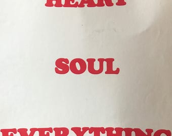 Heart, Soul, Everything cards.