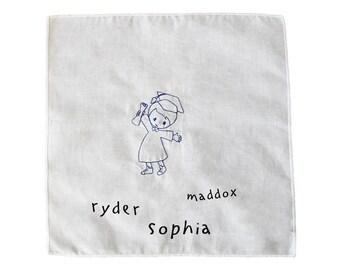Kindergarten Signing Cloth