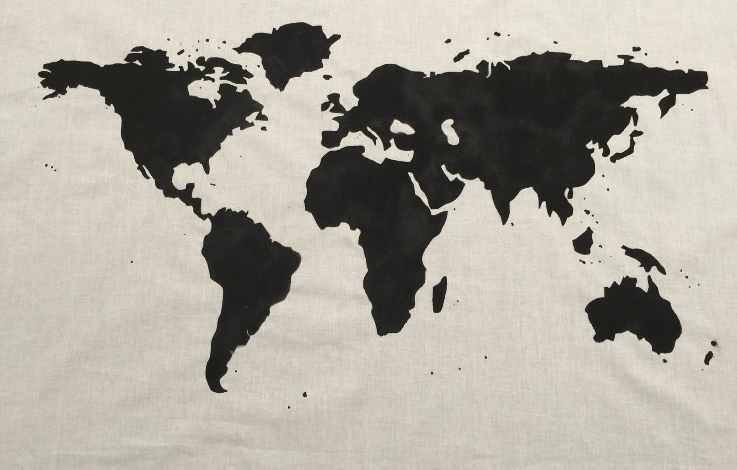 Sale world map wall tapestry in black zoom gumiabroncs Choice Image