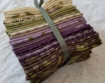 Lilac Ridge fat 8th bundle, 35 fat 8ths, designed by Jan Patek Quilts for Moda Fabrics